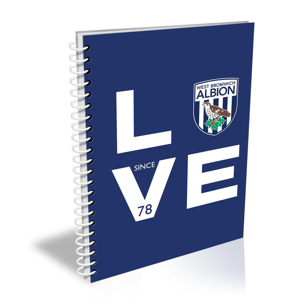 West Bromwich Albion Love Notebook
