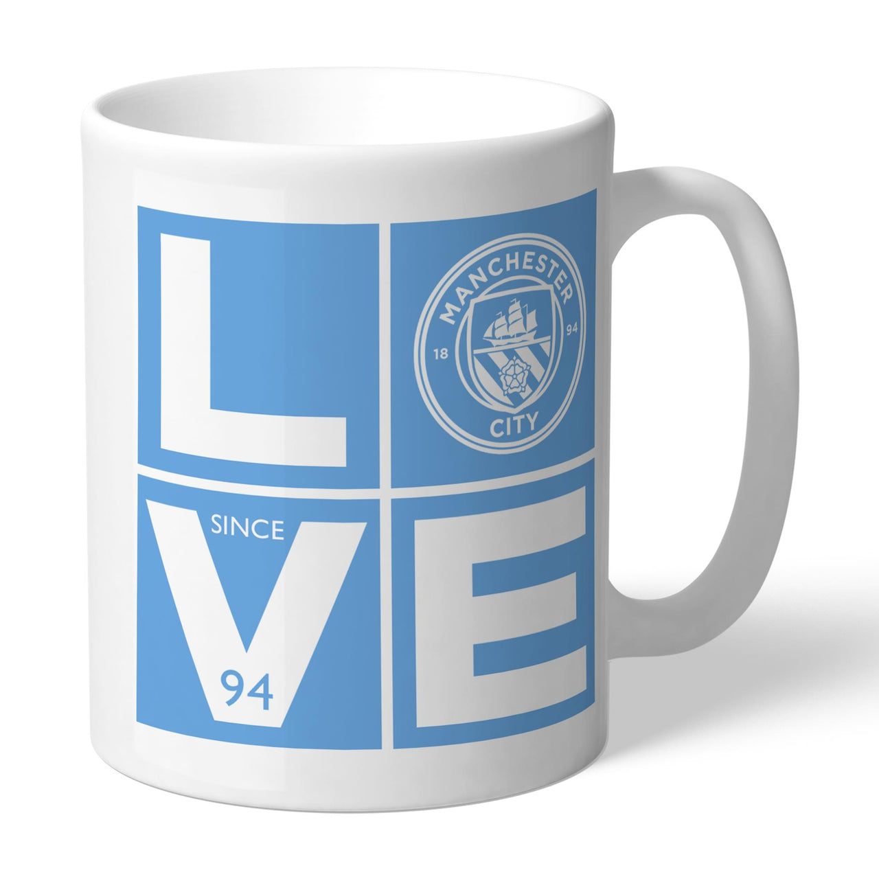 Manchester City Love Mugs, Gifts