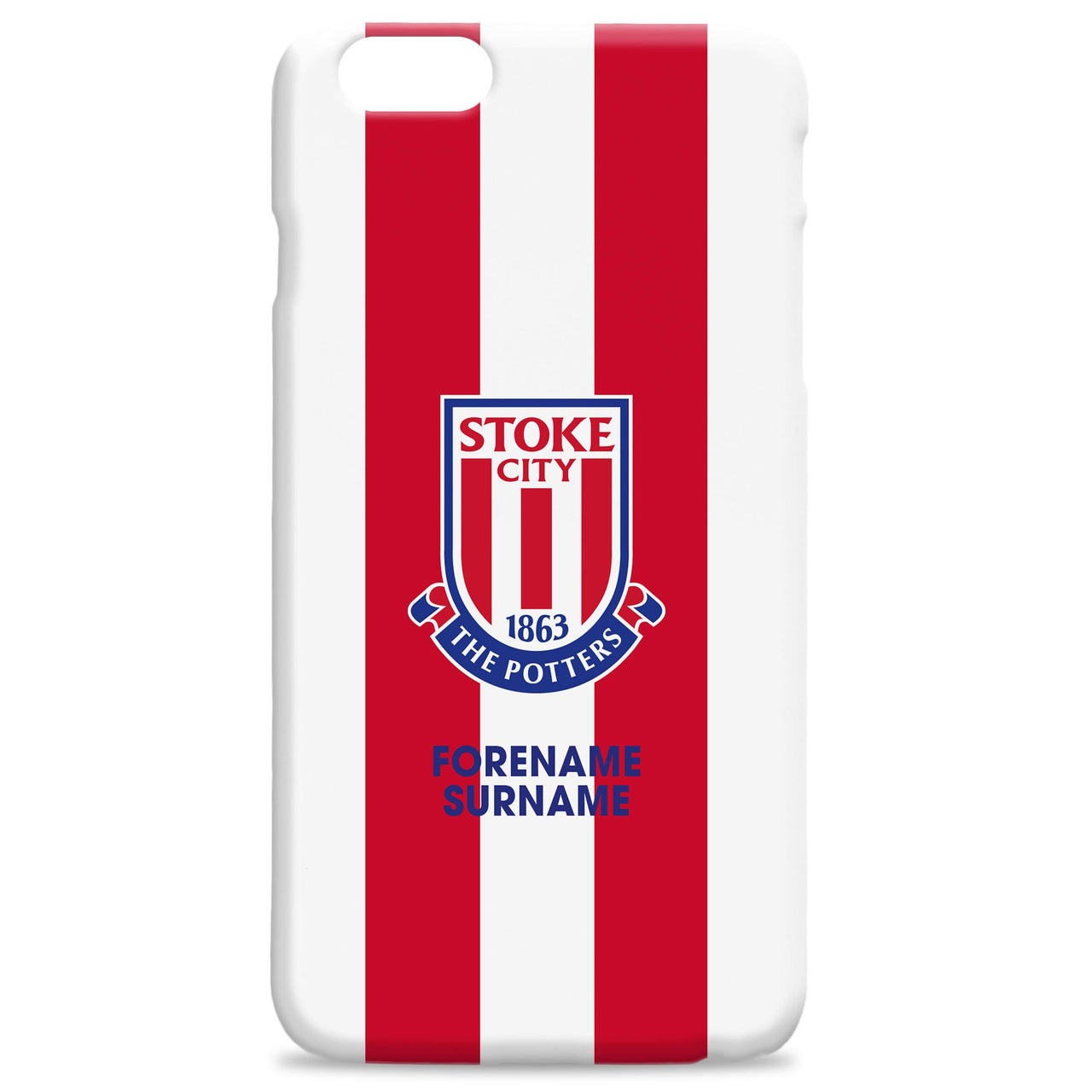 Stoke City FC Bold Crest Phone Case, Gifts
