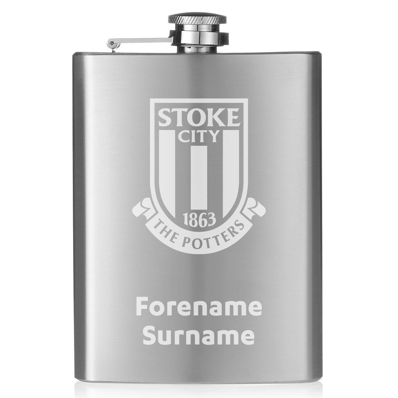 Stoke City FC Crest Hip Flask