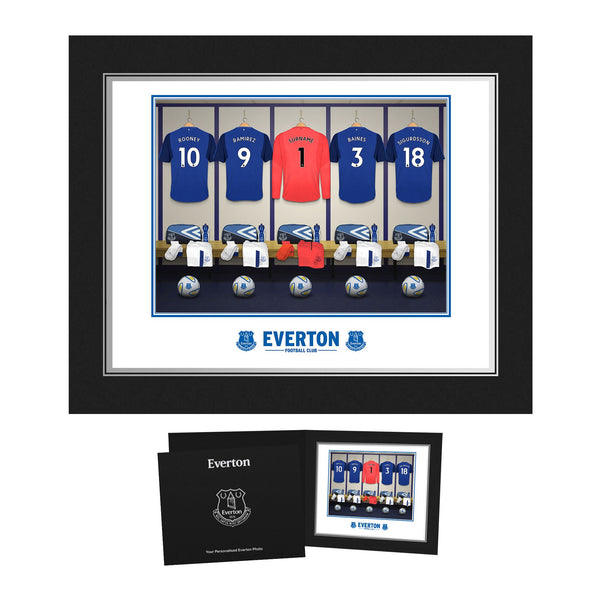 EFC Goalkeeper Dressing Room Photo Folder