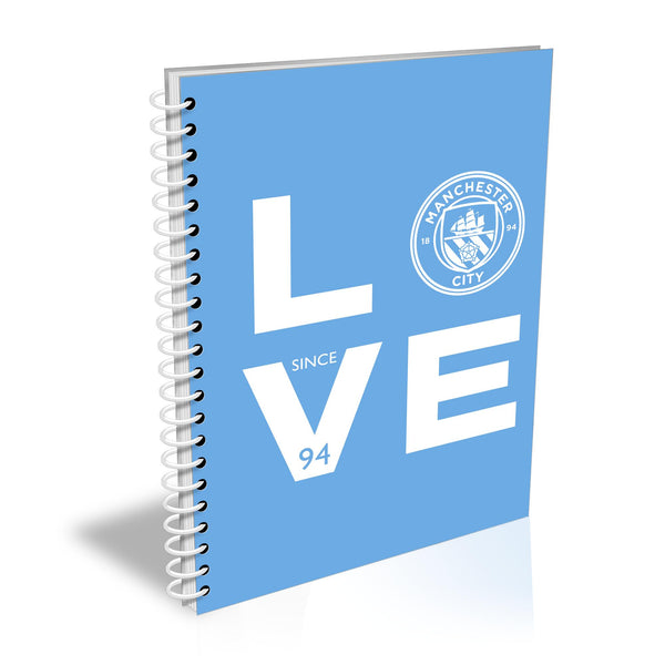 Manchester City Love Notebook