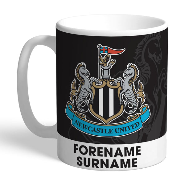 Newcastle United FC Bold Crest Mugs, Gifts