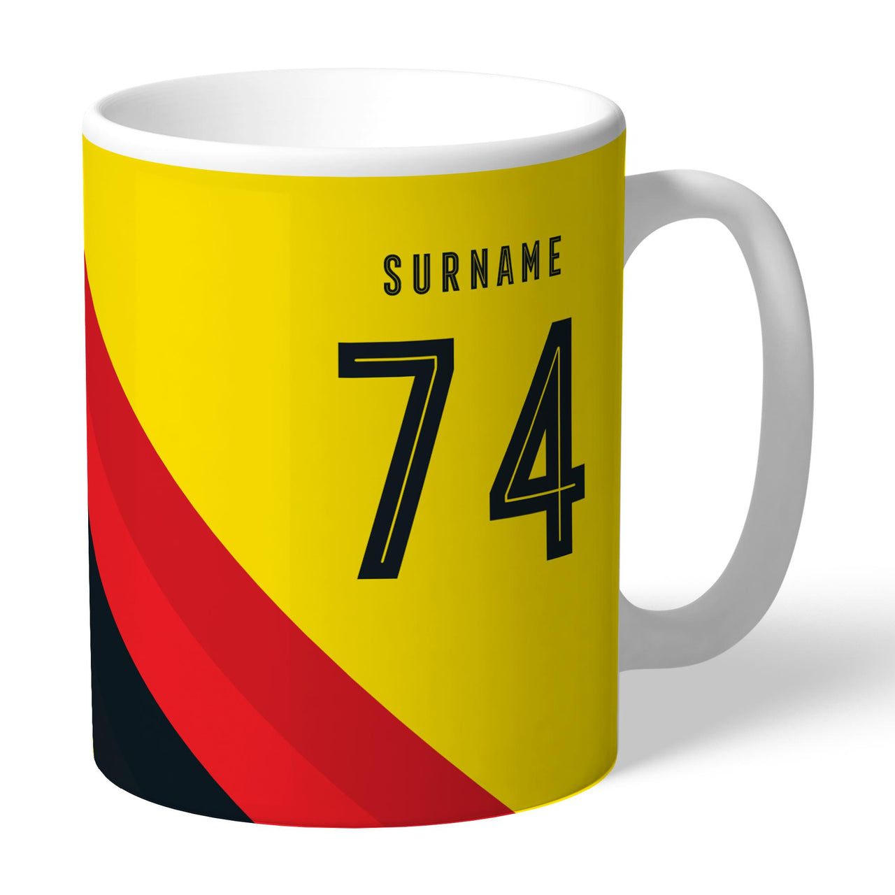 Watford Stripe Mugs, Gifts
