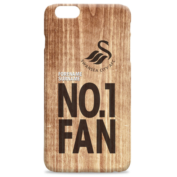 Swansea City AFC No 1 Fan Hard Back Phone Case, Gifts