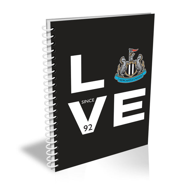 Newcastle United Love Notebook