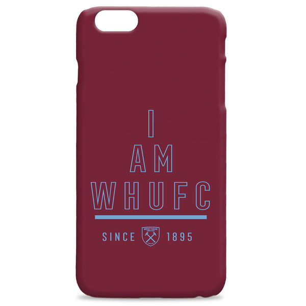 West Ham United I Am Phone Case, Gifts