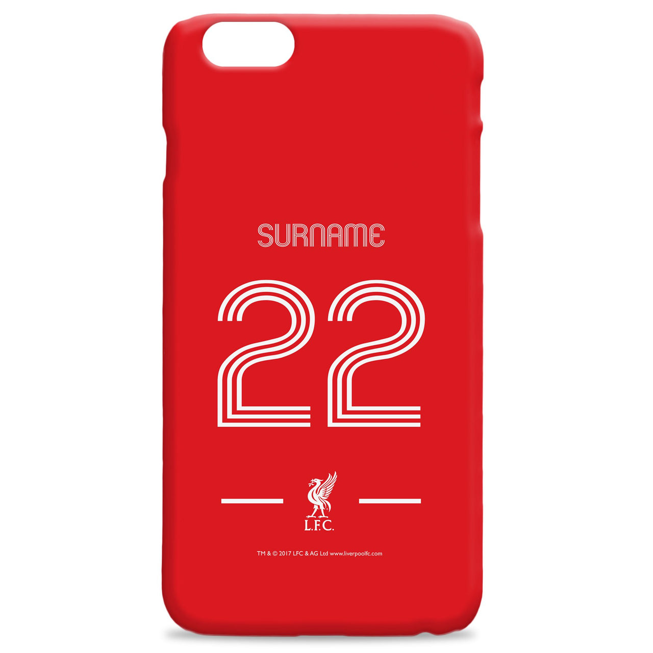 Liverpool Retro Shirt Phone Case, Gifts