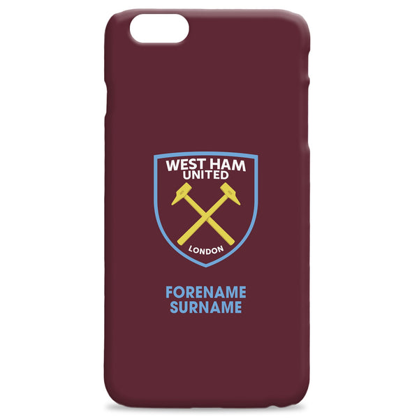 West Ham United FC Bold Crest Phone Case, Gifts