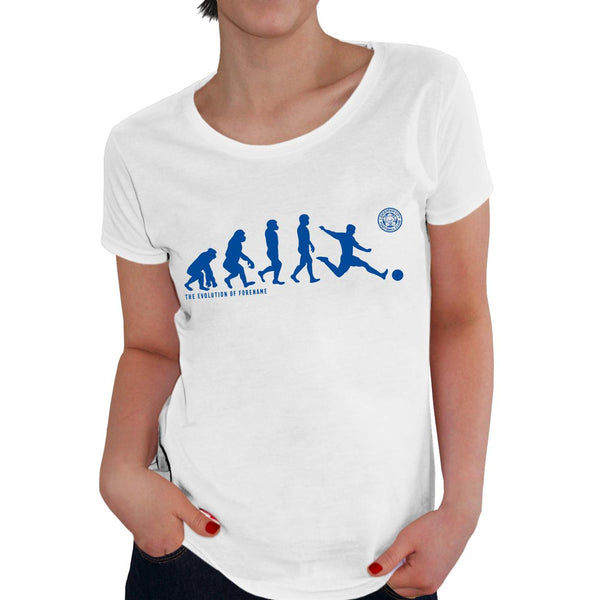 Leicester City Evolution Ladies T-Shirt