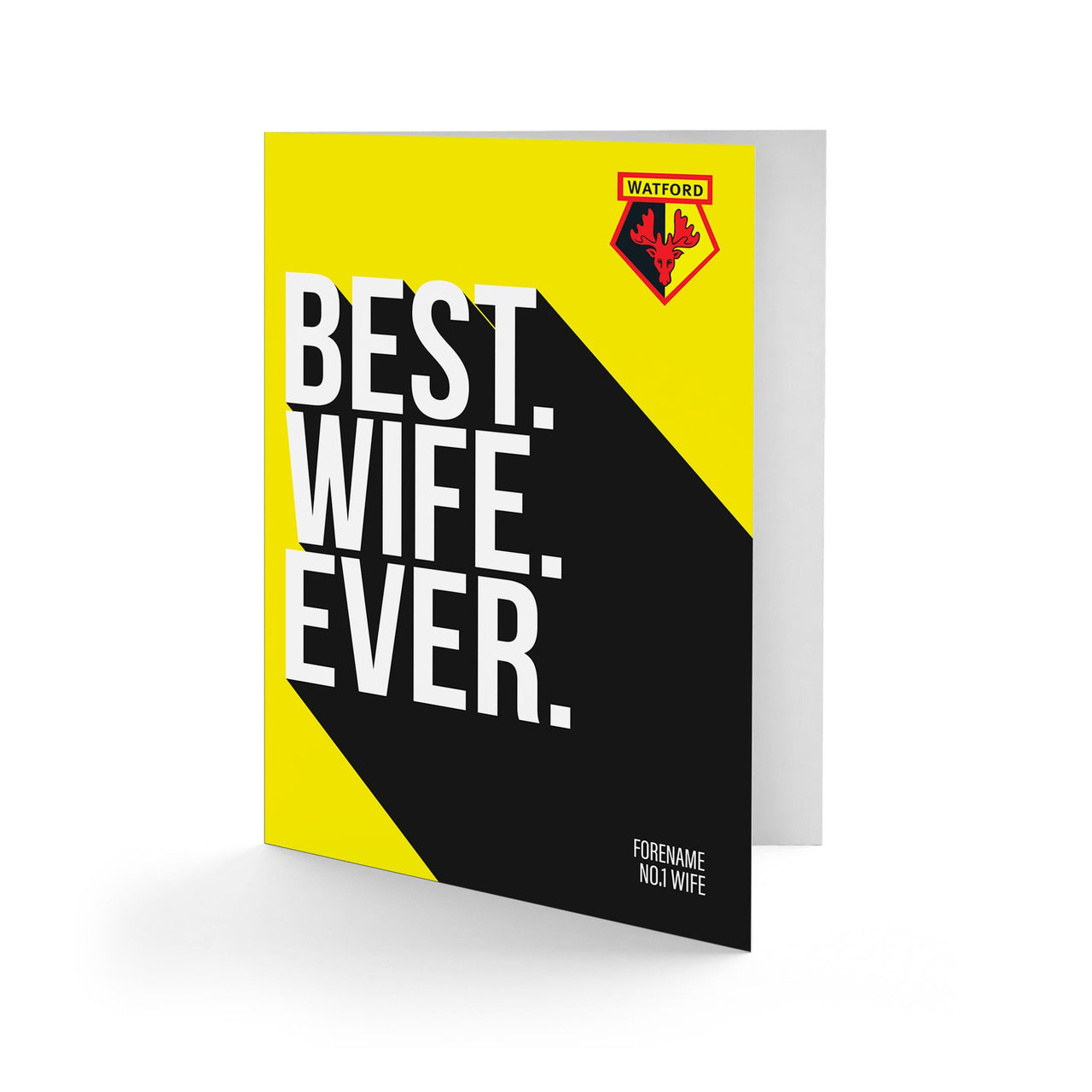 Watford Best Wife Ever Card