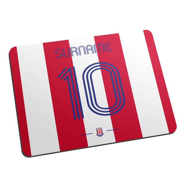 Stoke City Retro Shirt Mouse Mat