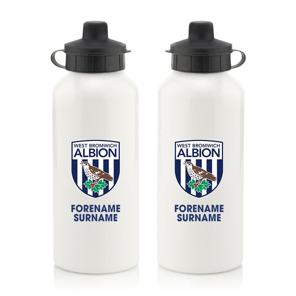 West Bromwich Albion FC Bold Crest  Water Bottle