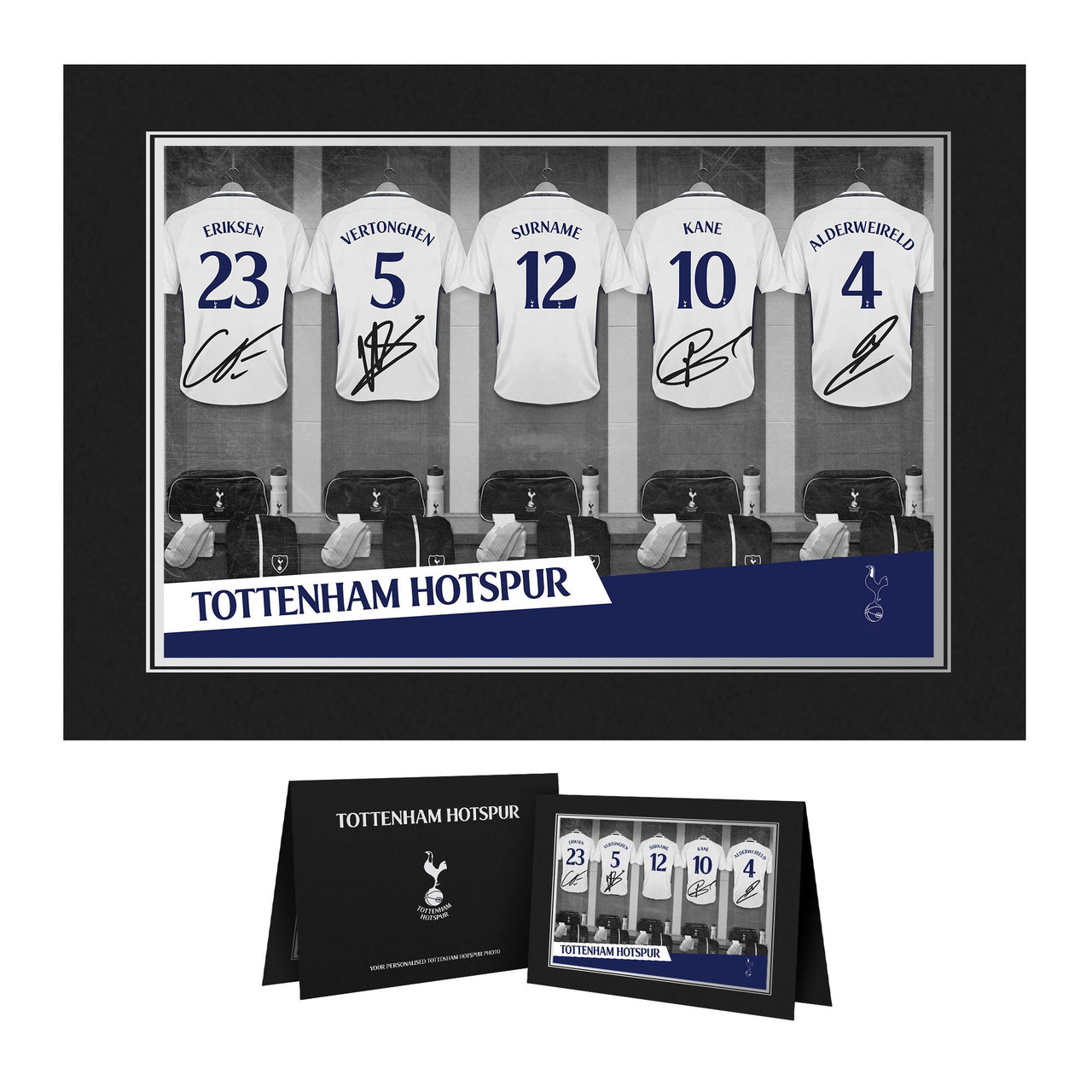 Official Personalised Chelsea FC Dressing Room Photo Folder
