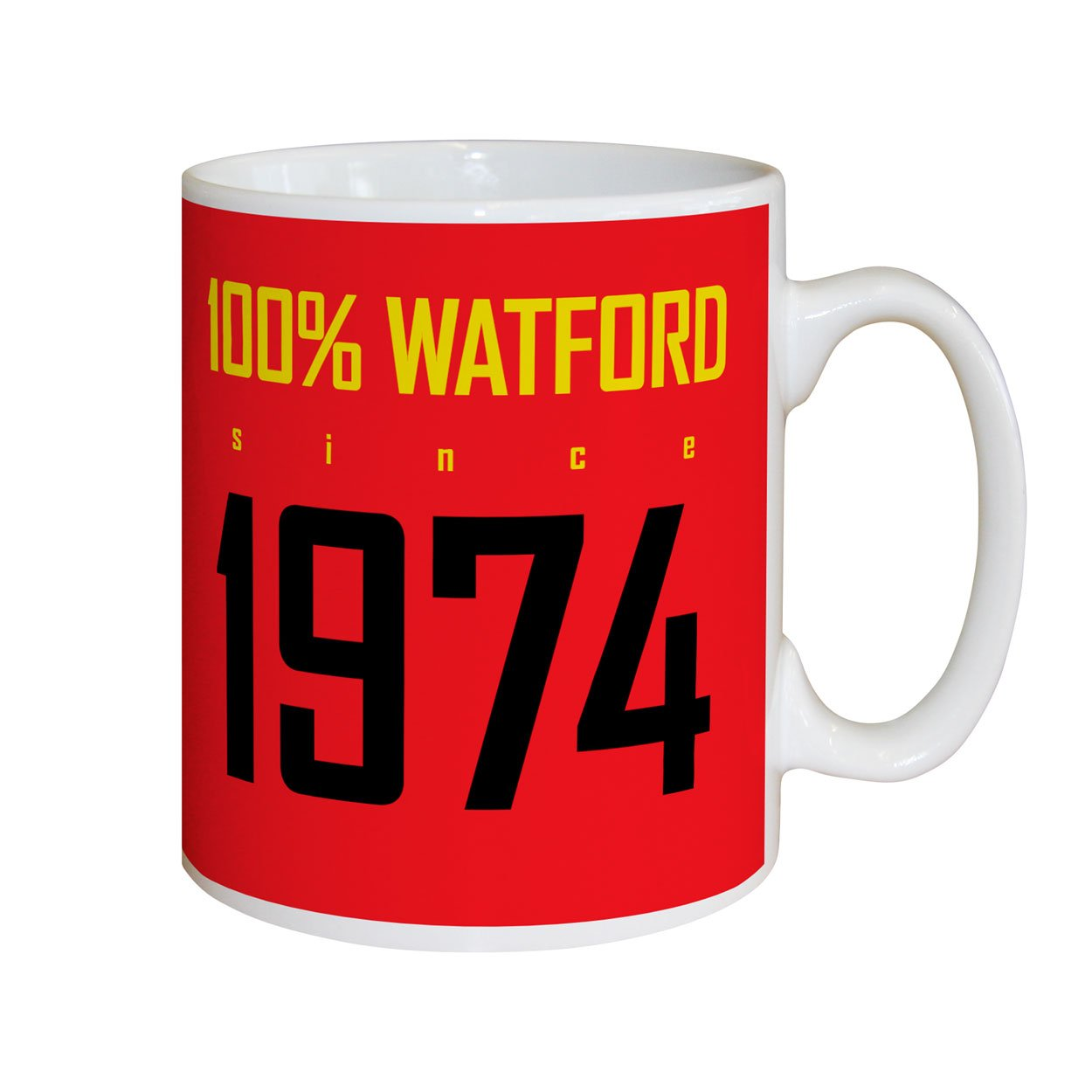 Watford FC 100 Percent Mugs, Gifts