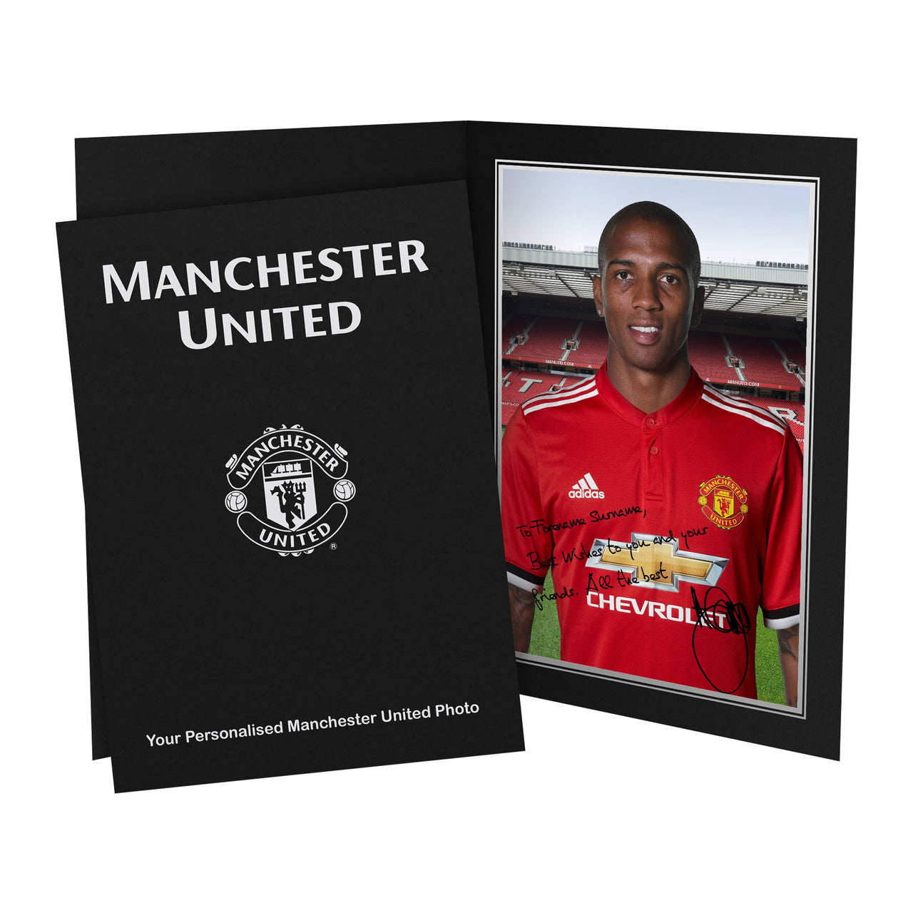 Manchester United FC Young Autograph Photo Folder
