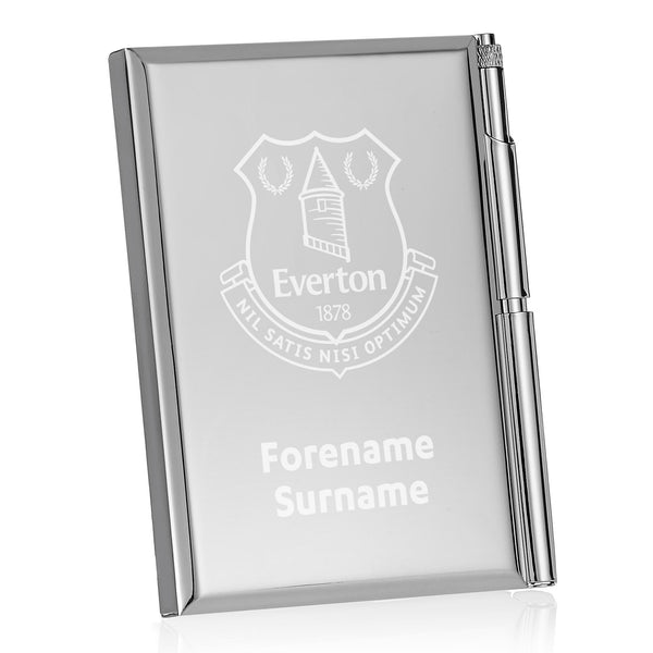 Everton FC Crest Address Book