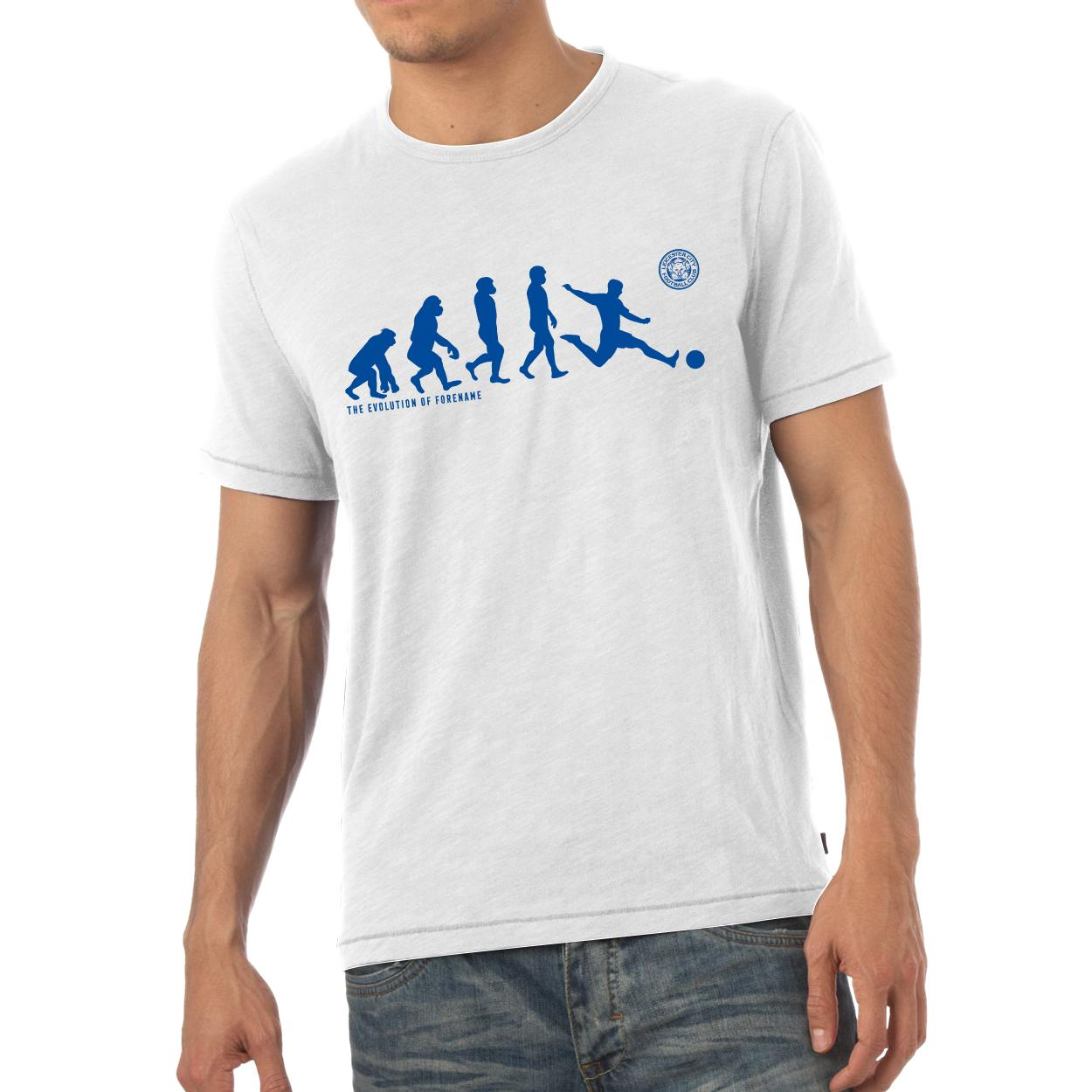Leicester City Evolution Mens T-Shirt