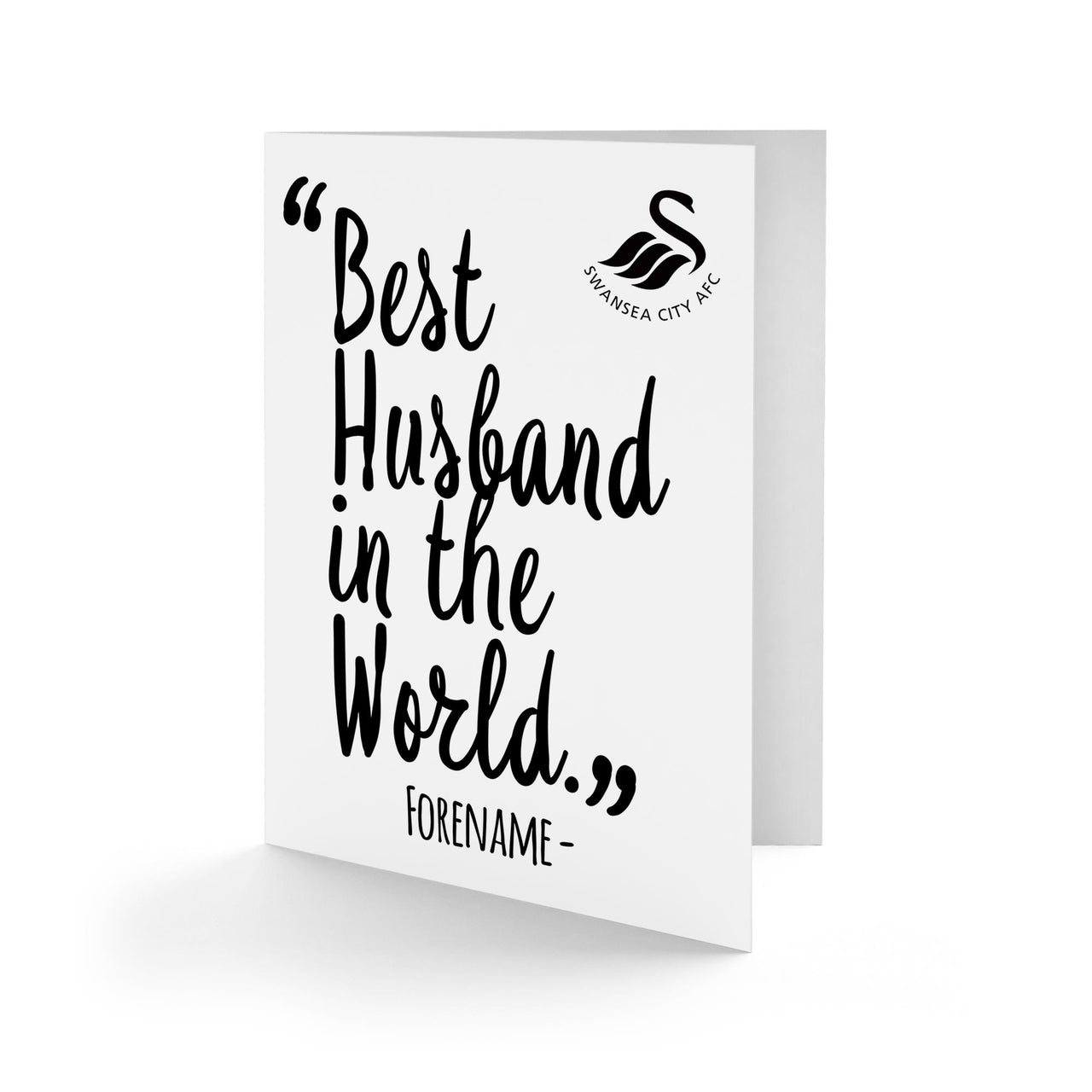 Swansea City Best Husband In The World Card
