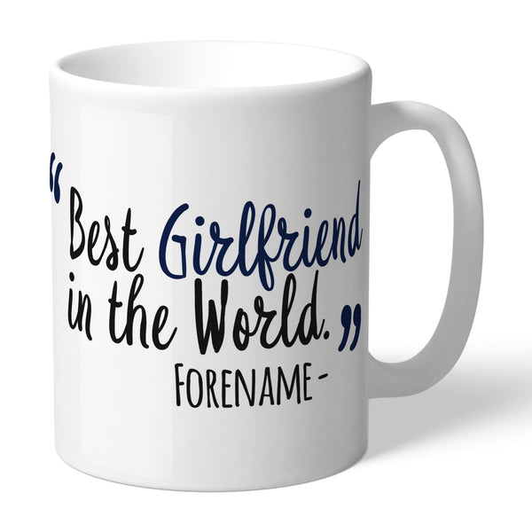 Tottenham Hotspur Best Girlfriend In The World Mugs, Gifts