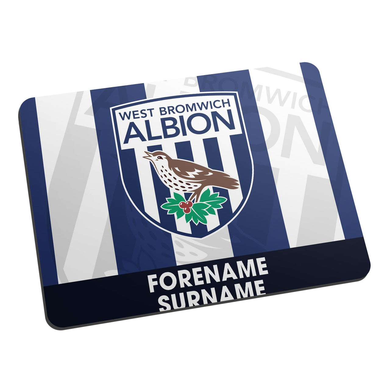 Personalised Mouse Mat BOLD CREST Swansea City A.F.C