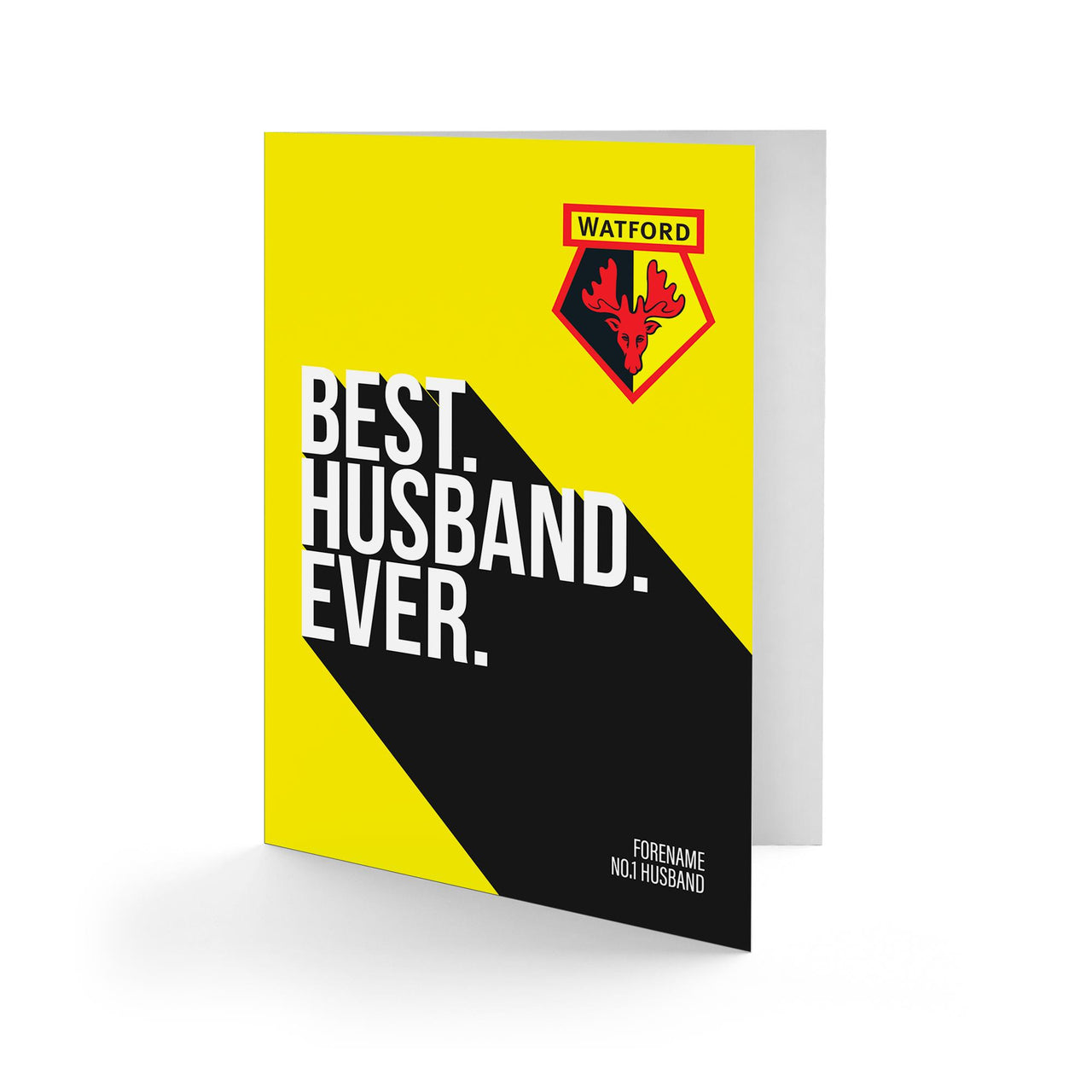 Watford Best Husband Ever Card