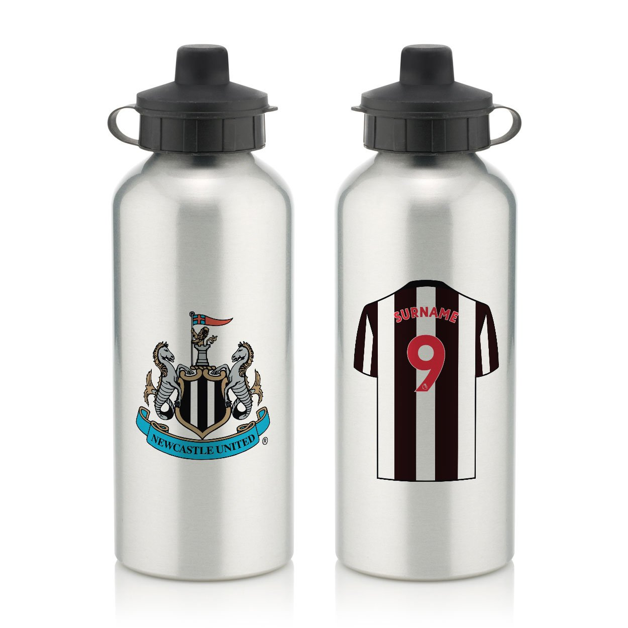 Newcastle United FC Aluminium Water Bottle