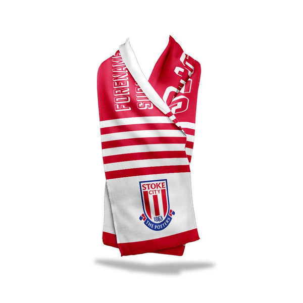 Stoke City FC No.1 Fan Fleece Scarf