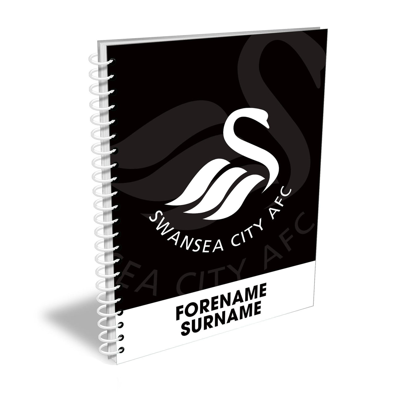 Swansea City AFC Bold Crest Notebook