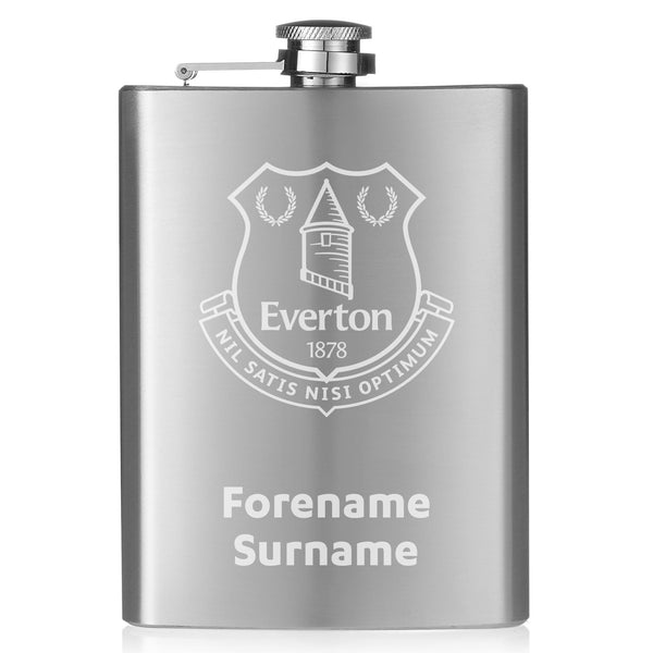 Everton FC Crest Hip Flask
