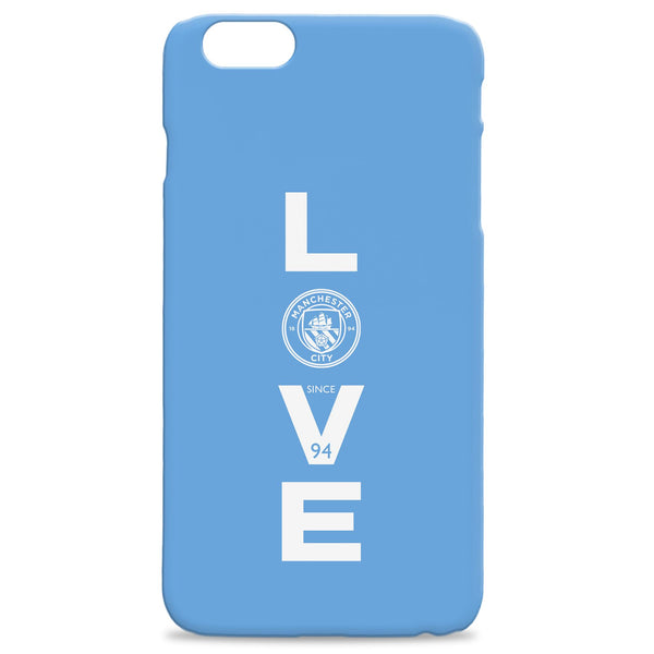 Manchester City Love Hard Back Phone Case, Gifts