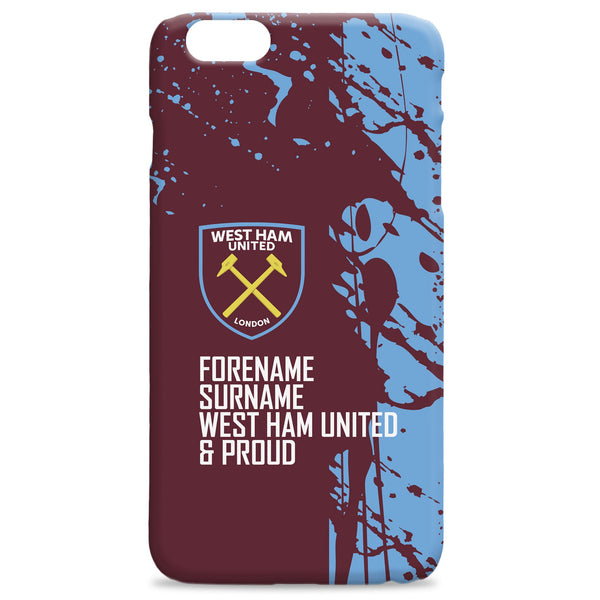 West Ham United FC Proud Hard Back Phone Case, Gifts