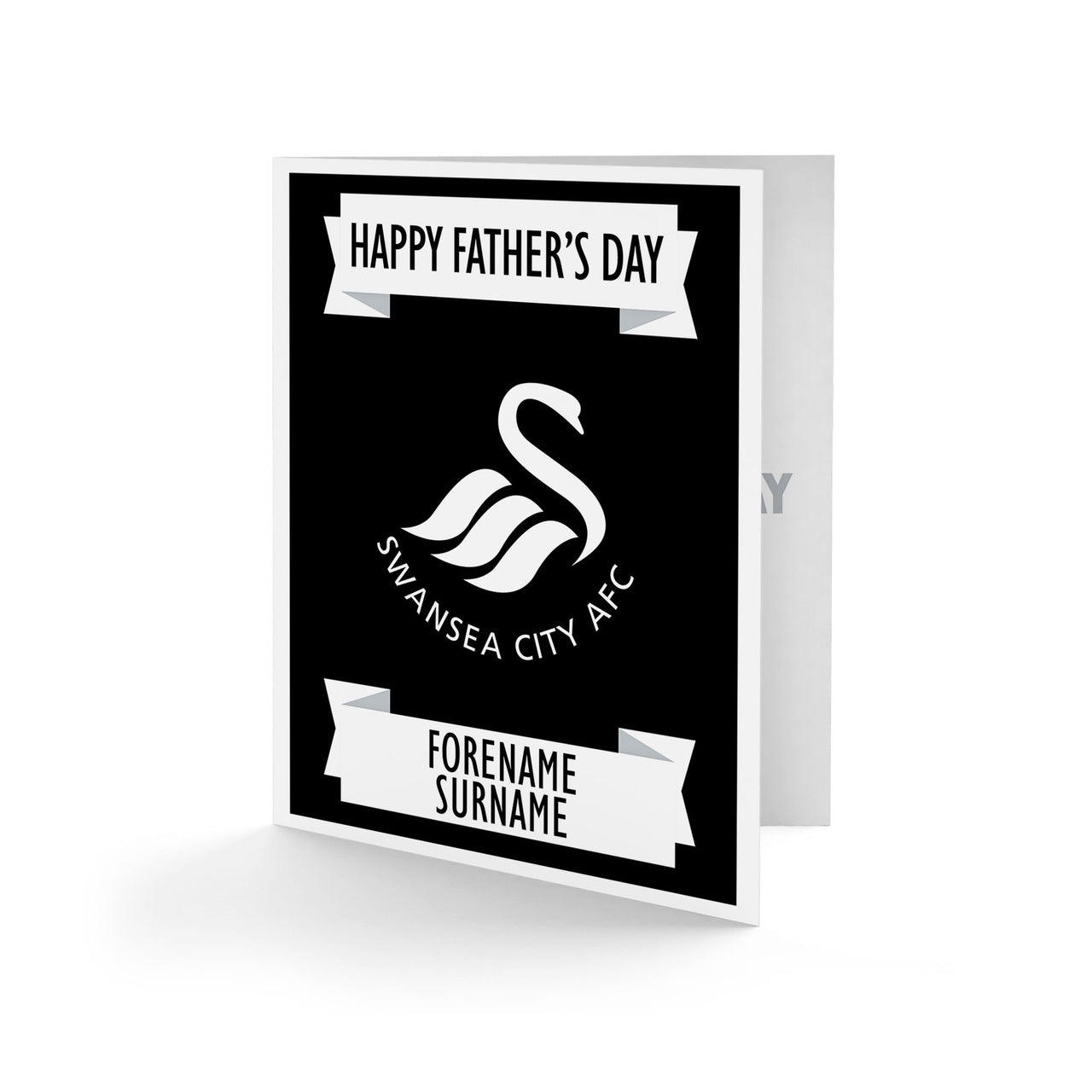 Swansea City AFC Crest Father's Day Card