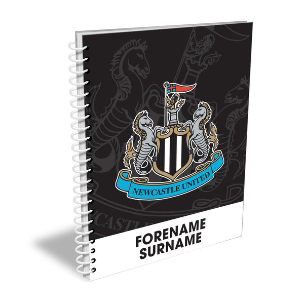 Newcastle United FC Bold Crest Notebook