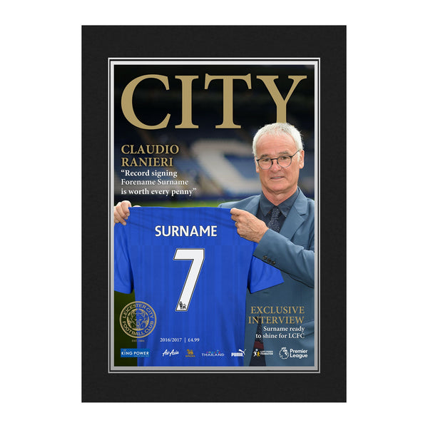 Leicester City FC Magazine Front Cover Photo Folder