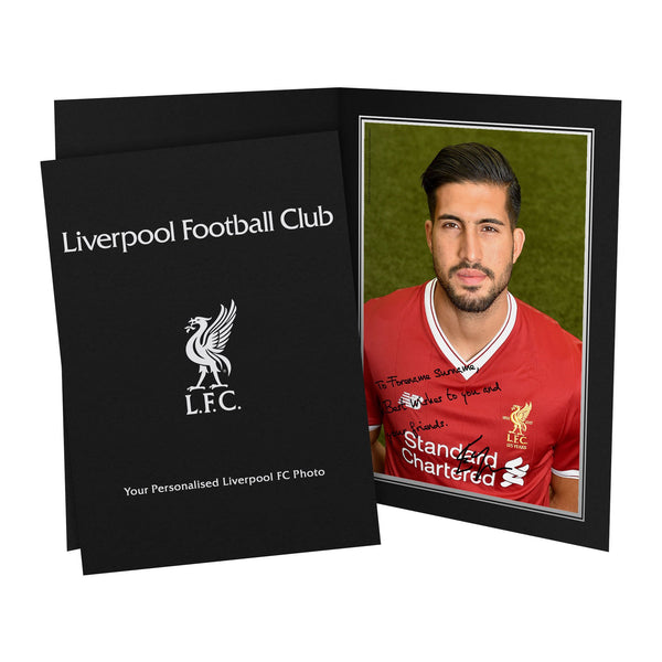Liverpool FC Can Autograph Photo Folder