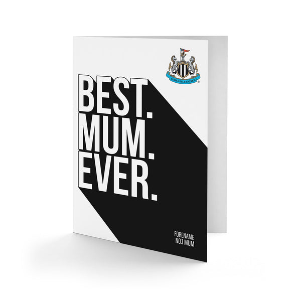 Newcastle United Best Mum Ever Card