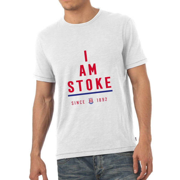 Stoke City I Am Mens T-Shirt