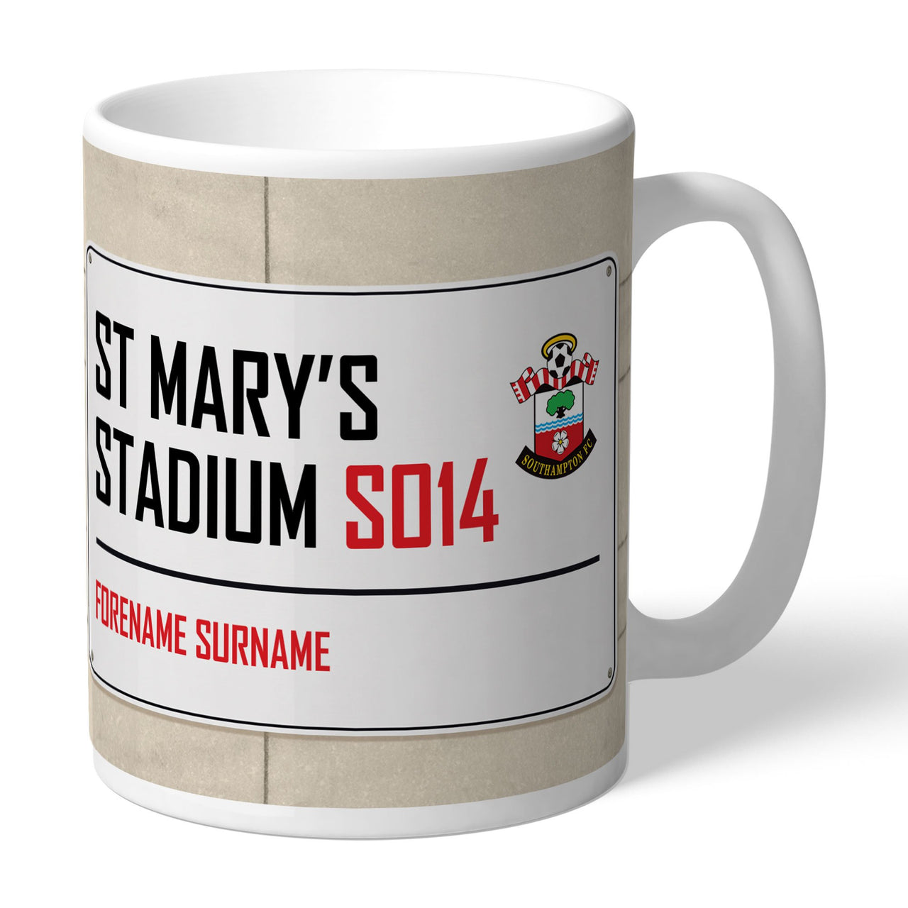 Southampton FC Street Sign Mugs, Gifts