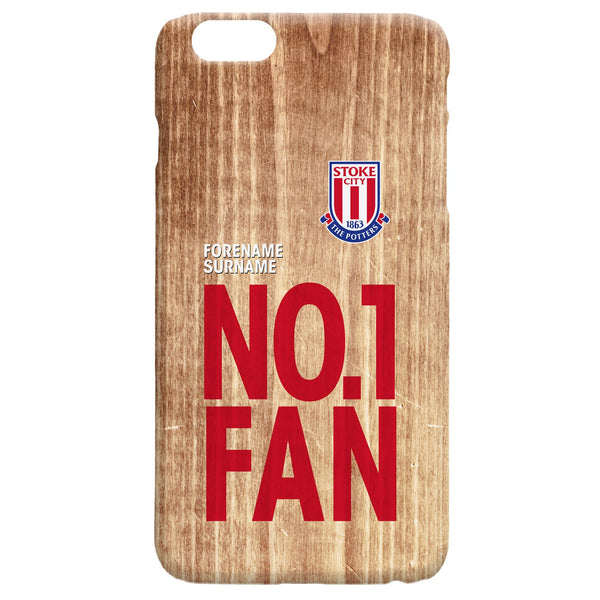 Stoke City FC No 1 Fan Hard Back Phone Case, Gifts