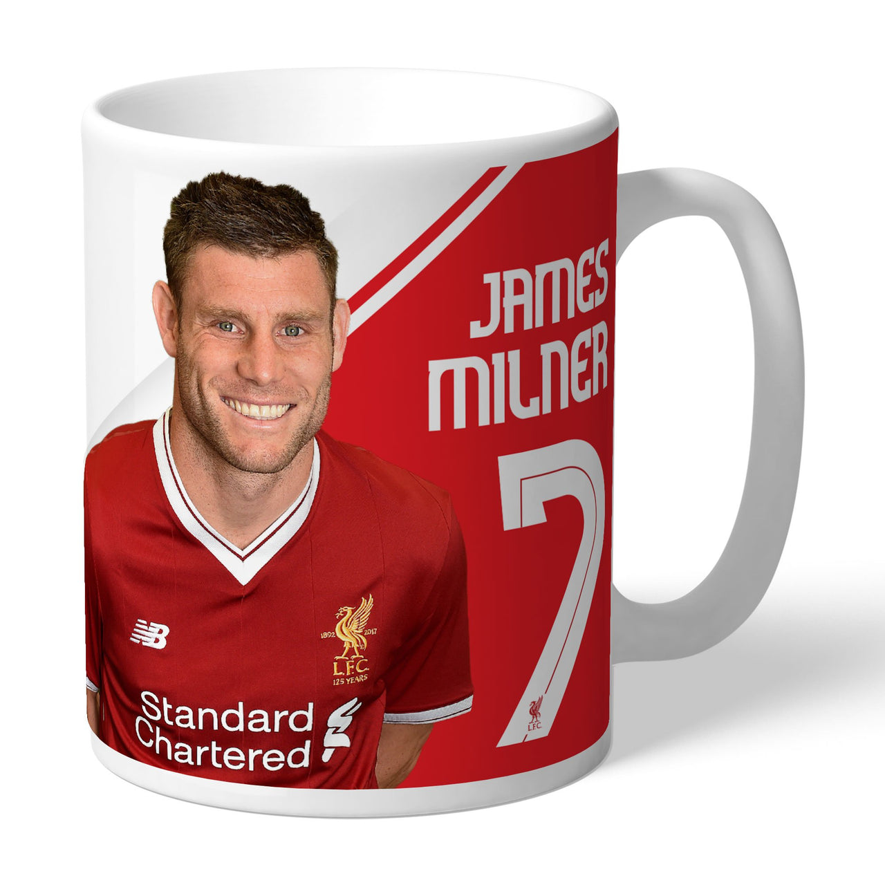 Liverpool FC Milner Autograph Mugs, Gifts