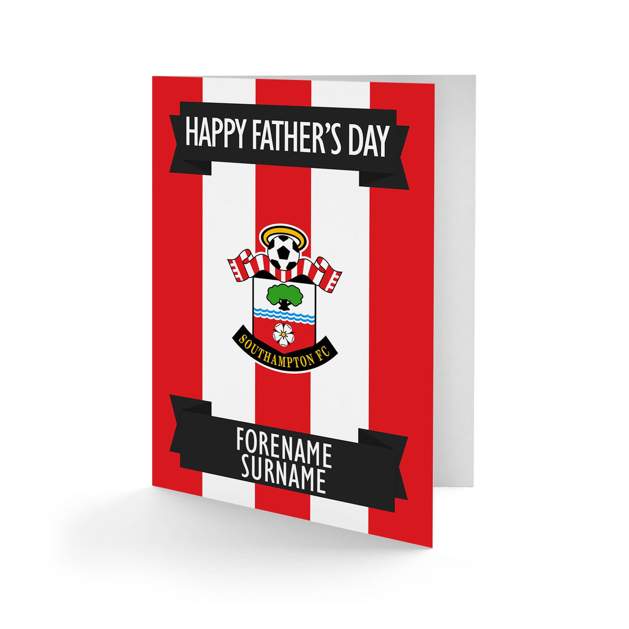 Southampton FC Crest Father's Day Card