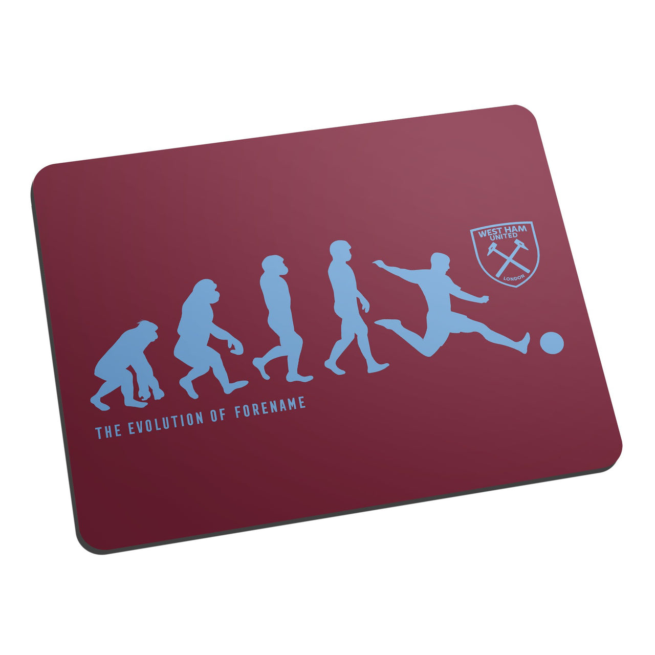 West Ham United Evolution Mouse Mat
