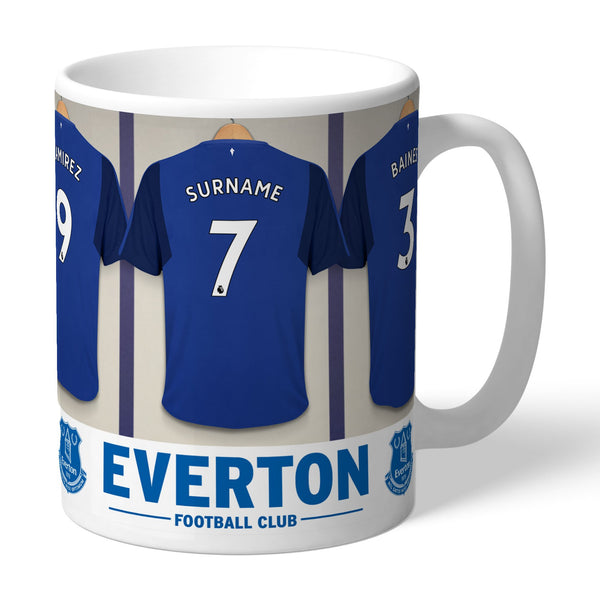 Everton FC Dressing Room Mugs, Gifts