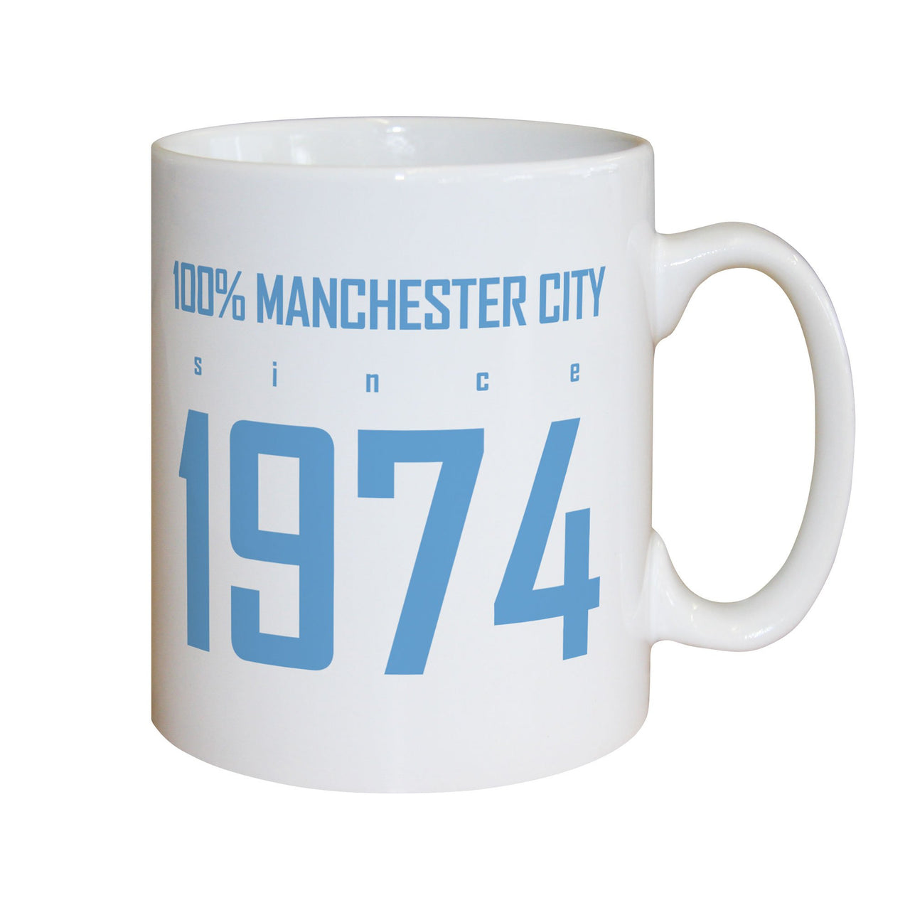 Manchester City FC 100 Percent Mugs, Gifts