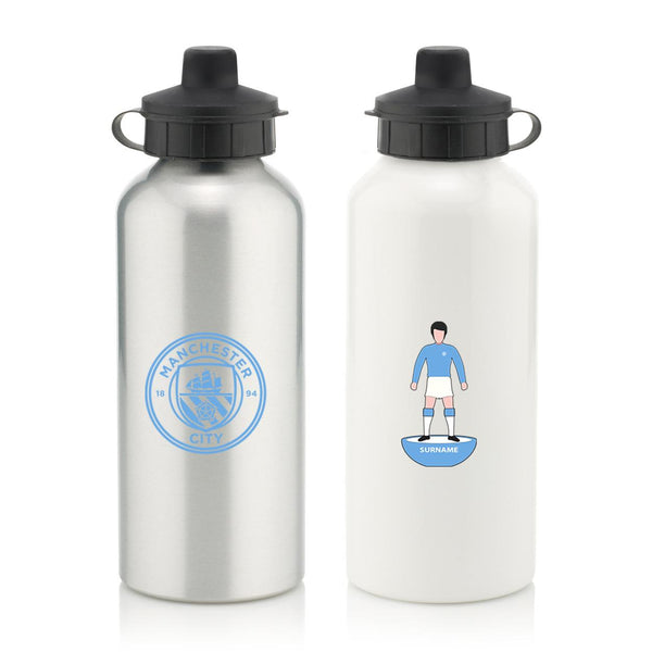 Manchester City Player Figure Water Bottle