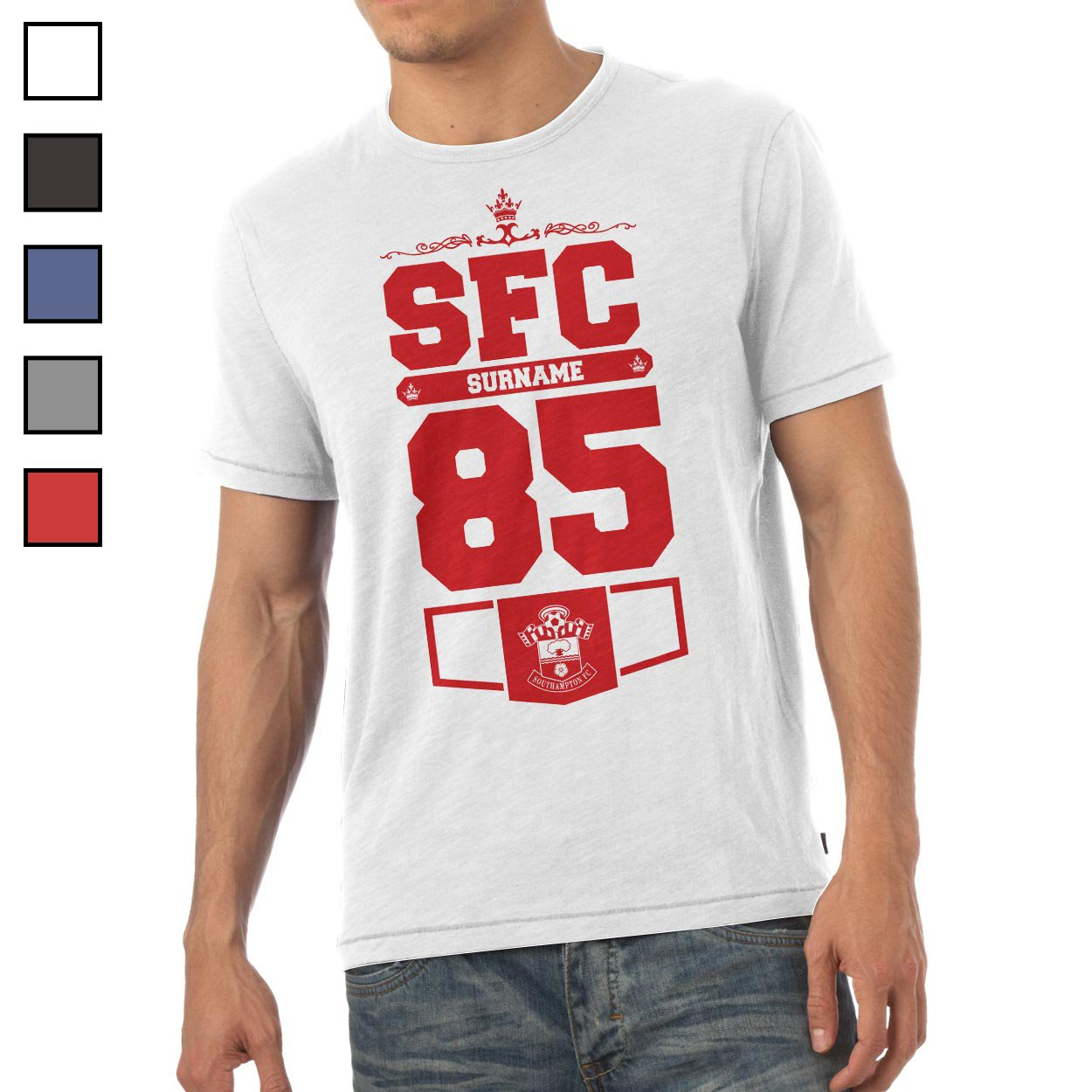Southampton FC Mens Club T-Shirt