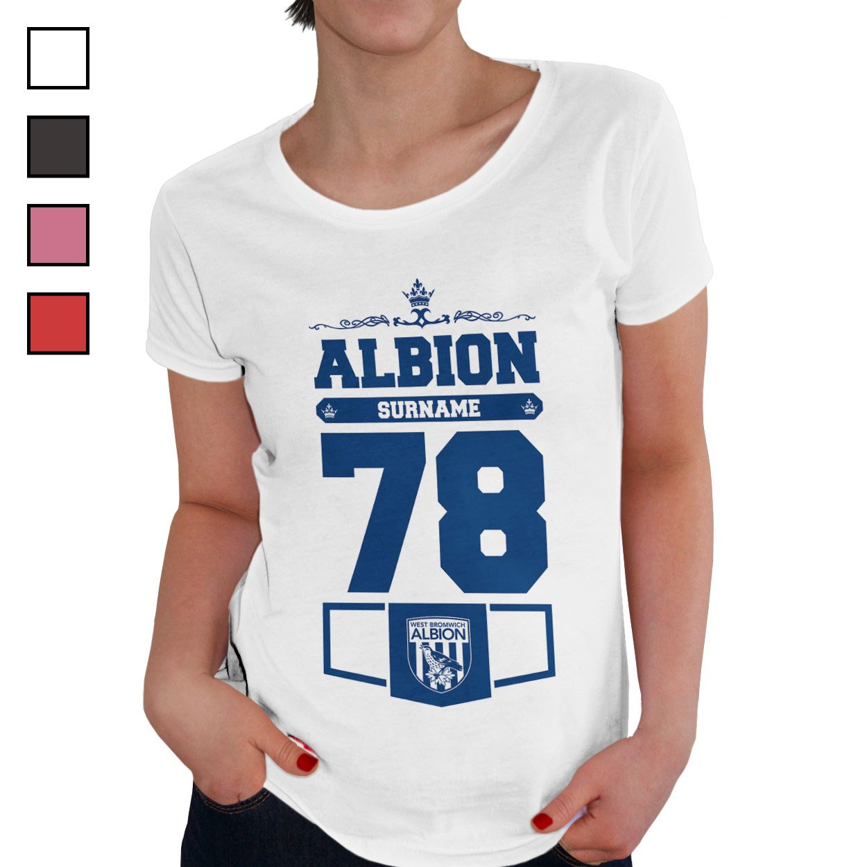 West Bromwich Albion FC Ladies Club T-Shirt