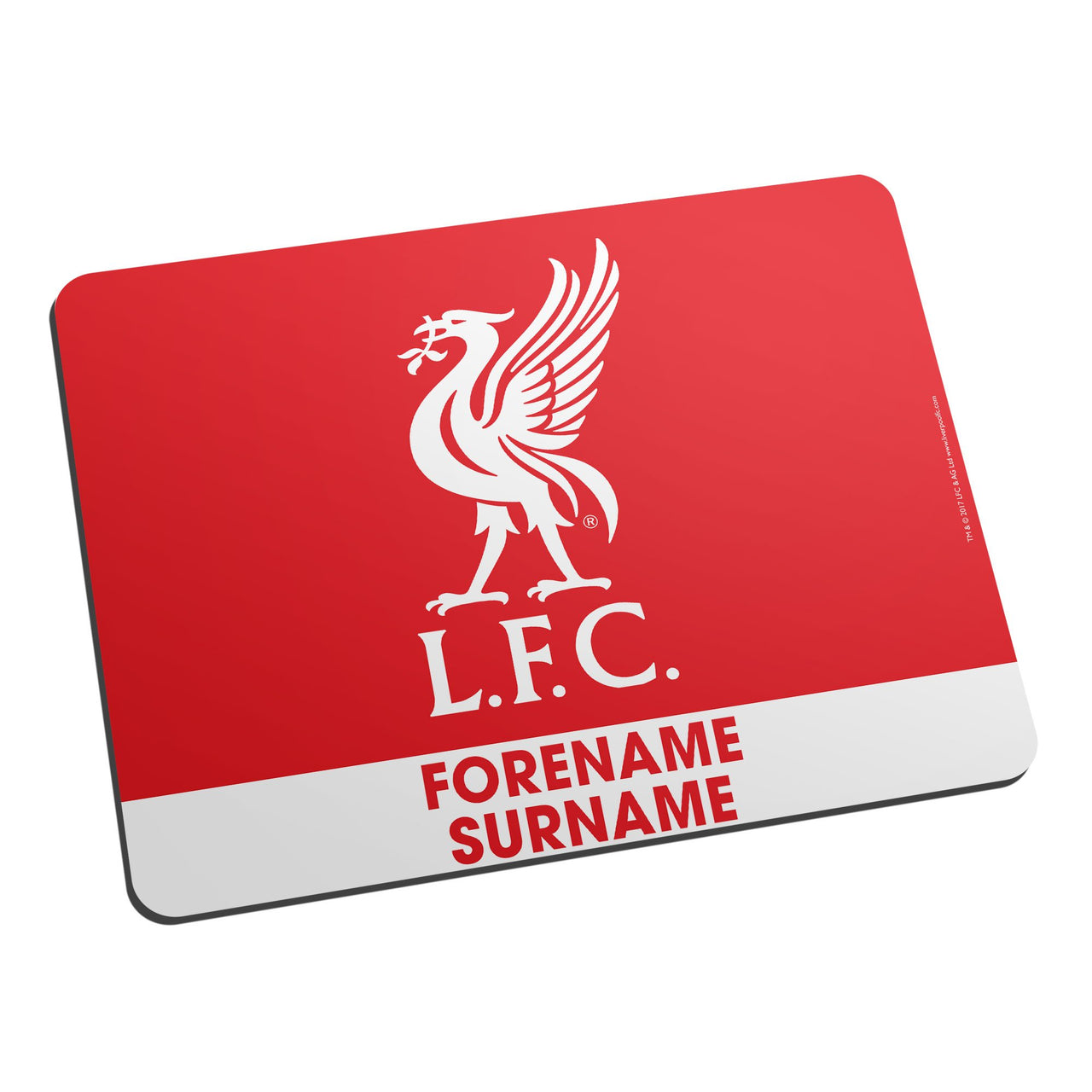 Liverpool FC Bold Crest Mouse Mat