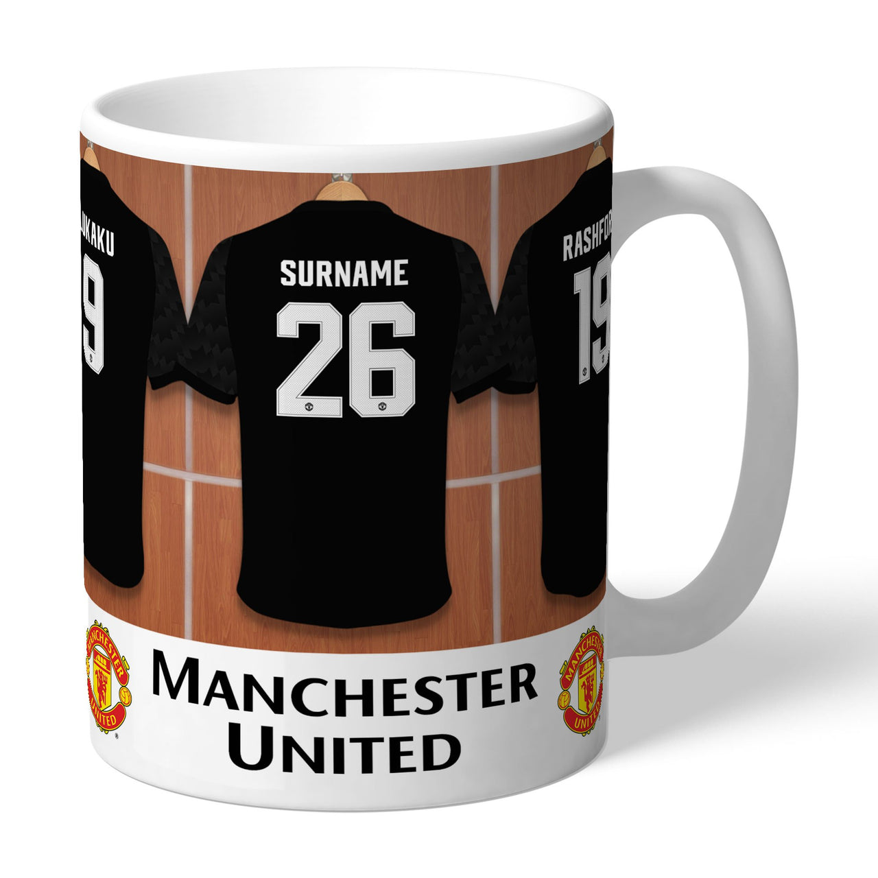 Manchester United FC Away Dressing Room Mugs, Gifts